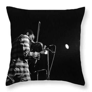 Ornette Coleman On Violin Throw Pillow