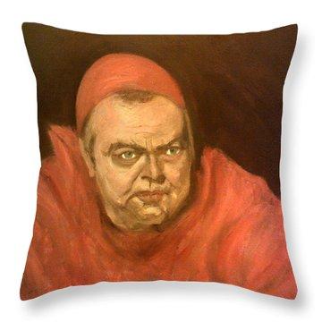 Orson Welles As Cardinal Wolsey Throw Pillow