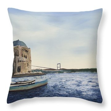 Ortakoy Mosque Throw Pillow