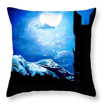 Orthanc Rescue Throw Pillow by Kayleigh Semeniuk