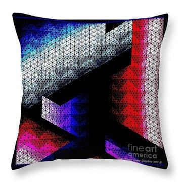 Orthogon Disco Throw Pillow