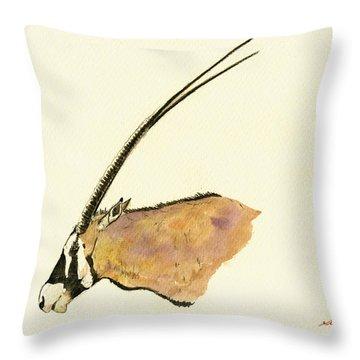 Oryx Throw Pillow