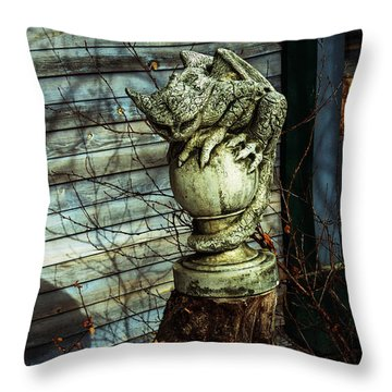 Oscar Throw Pillow by Alana Thrower