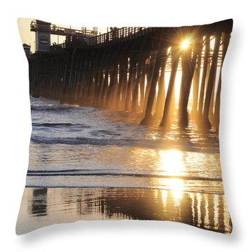 O'side Pier Throw Pillow