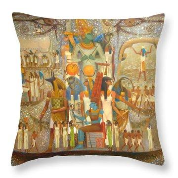 Osiris Throw Pillow