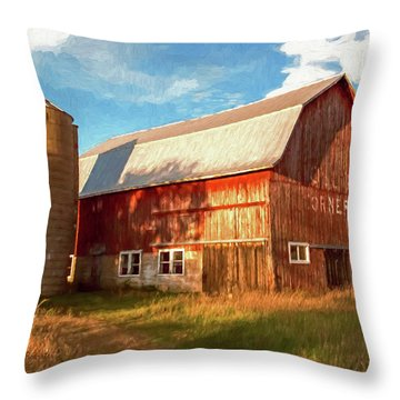 Oslo Corner Throw Pillow
