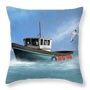 Osprey Throw Pillow