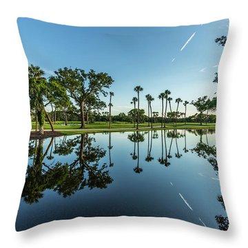 Osprey Point Kiawah Island Resort Throw Pillow