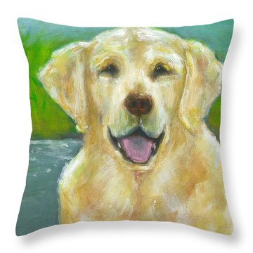 Ossie Throw Pillow by Frances Marino