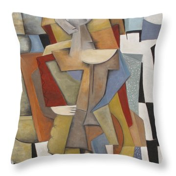 Ostentacious Throw Pillow