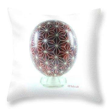 Ostrich Egg Od001 Throw Pillow
