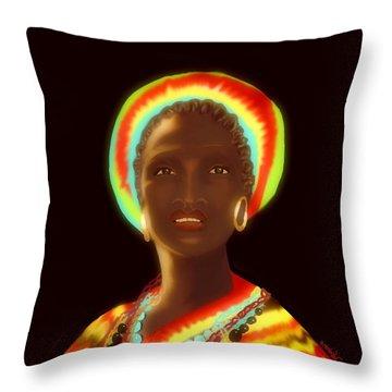 Osumare Throw Pillow