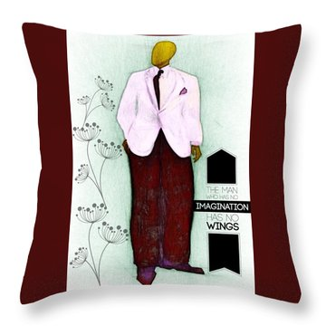 Other Dude Throw Pillow