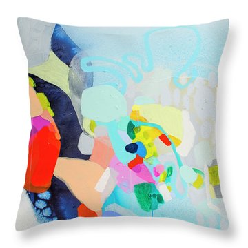Other Side Of The Picture Throw Pillow