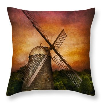 Other - Windmill Throw Pillow by Mike Savad