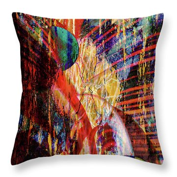 Other Wordly Throw Pillow by Robert Ball