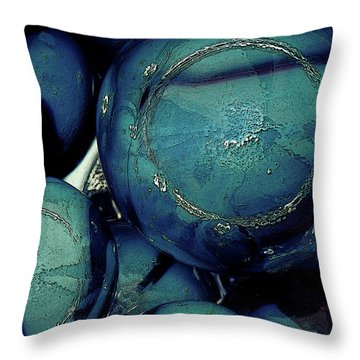 Throw Pillow featuring the photograph Other Worlds Iv by Shelly Stallings