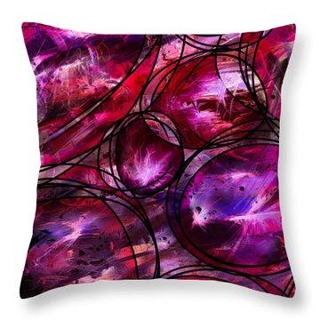 Other Worlds Throw Pillow by Rachel Christine Nowicki