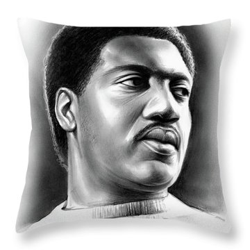 Otis Redding Throw Pillow