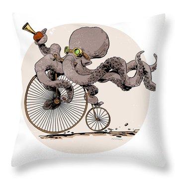 Octopus Throw Pillows