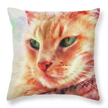 Our Buddy Throw Pillow