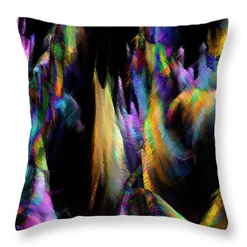 Our Colorful Planet Throw Pillow