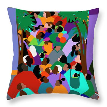 Our Community Throw Pillow