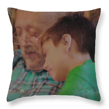 Throw Pillow featuring the photograph Our Favorite Game by Kate Word