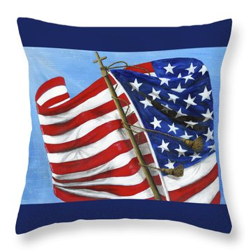 Our Founding Principles Throw Pillow