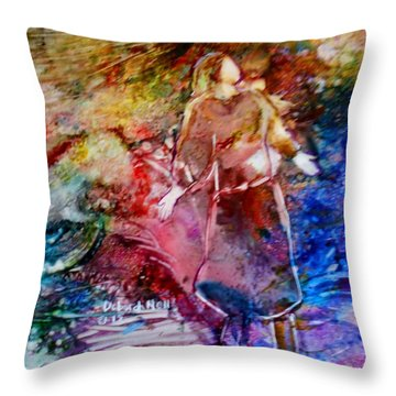 Our God Is An Awesome God Throw Pillow