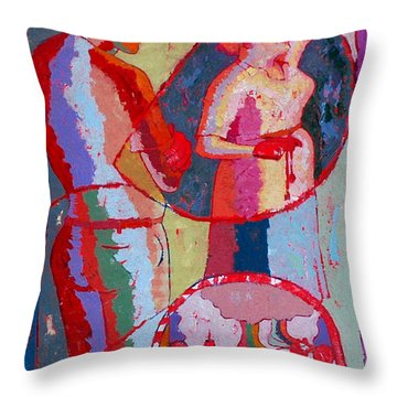 Our Inescapable Duty 4 Throw Pillow by John Powell