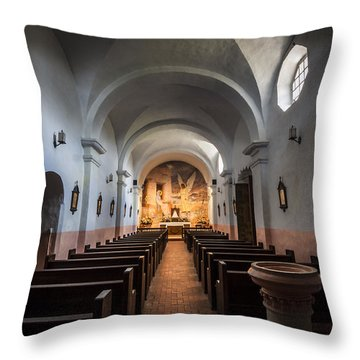 Our Lady Of Loreto Throw Pillow