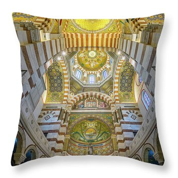Our Lady Of The Guard Throw Pillow