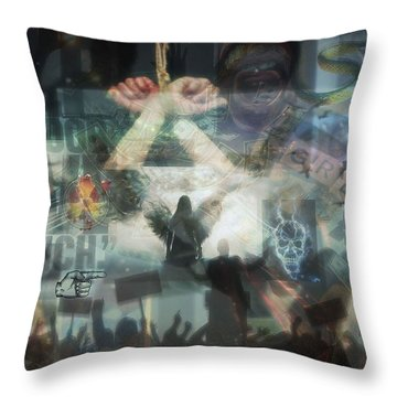 Our Monetary System  Throw Pillow