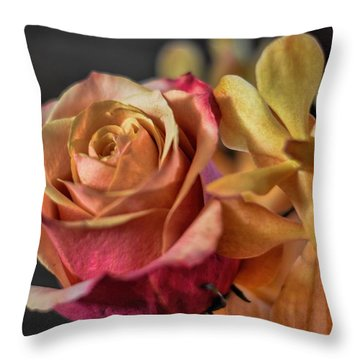 Throw Pillow featuring the photograph Our Passion by Diana Mary Sharpton