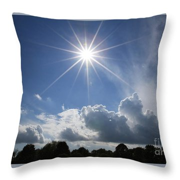 Our Shining Star Throw Pillow