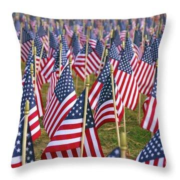 Our Unforgotten Freedom Throw Pillow