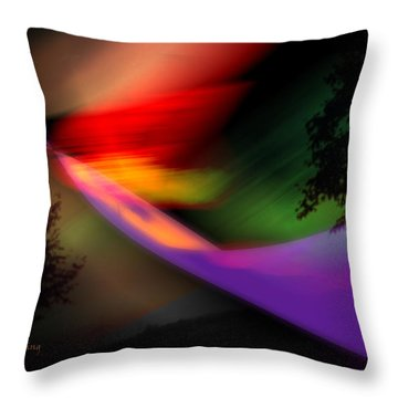 Our World Throw Pillow