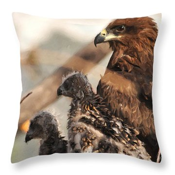 Our World Is Beautiful Mom  Throw Pillow