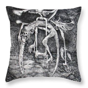 Perpetual Motion Machine Throw Pillows