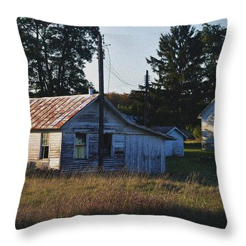 Out Building Throw Pillow