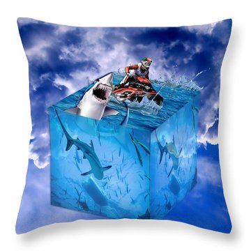 Out For A Good Time Throw Pillow