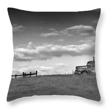 Out For Delivery In Floyd Virginia Throw Pillow