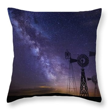 Our Milky Way  Throw Pillow