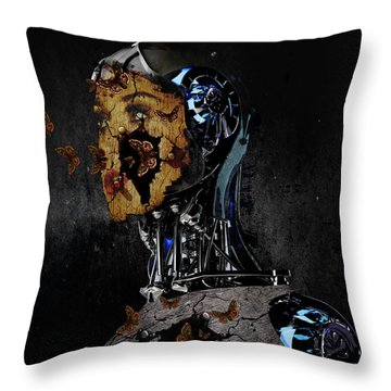 Out Of Captivity Throw Pillow