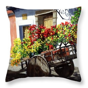 Out Of Darkness, Light Throw Pillow