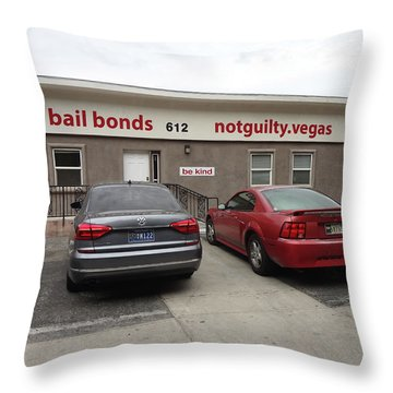 Out Of Pocket Expenses Throw Pillow by Bruce Iorio