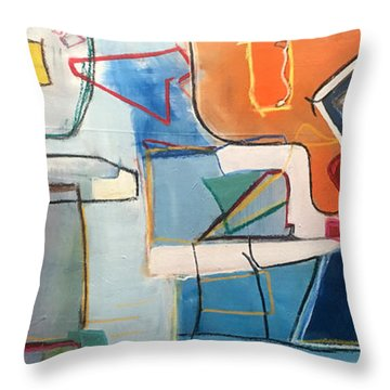 Out Of Sorts Throw Pillow