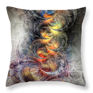 Out Of The Ashes Throw Pillow by Kim Redd