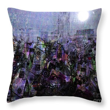 Out Of The Blue 2 Throw Pillow by Andy  Mercer